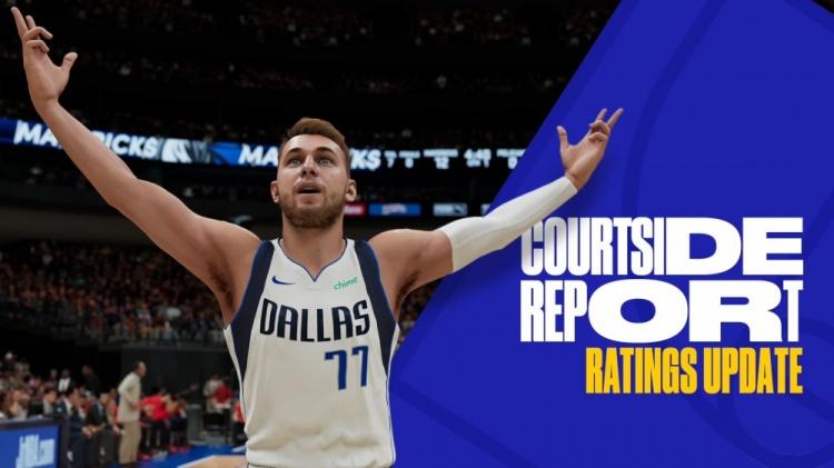 NBA2K球员能力值更新:东契奇升至94 锡安生涯首次达到90!